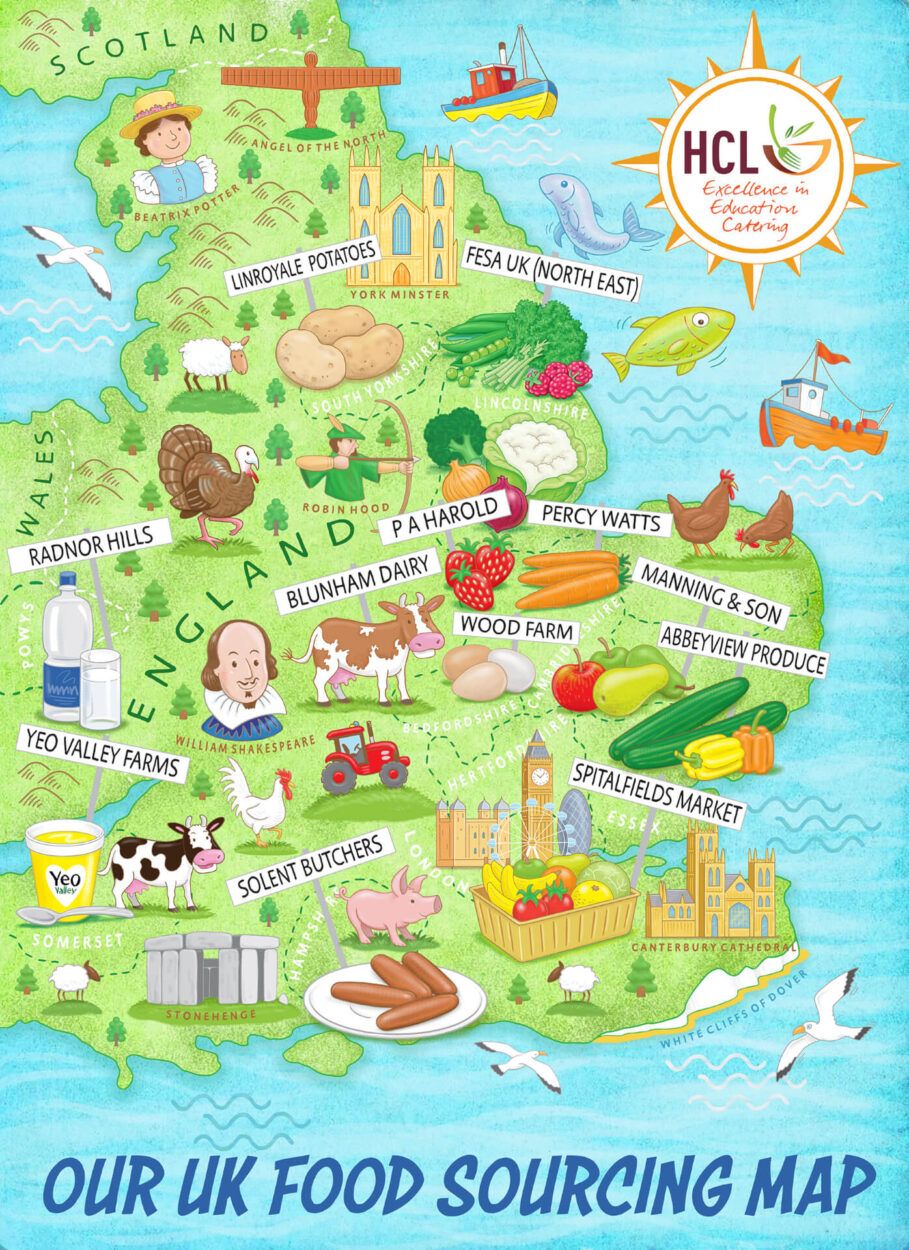 Farm Map Poster